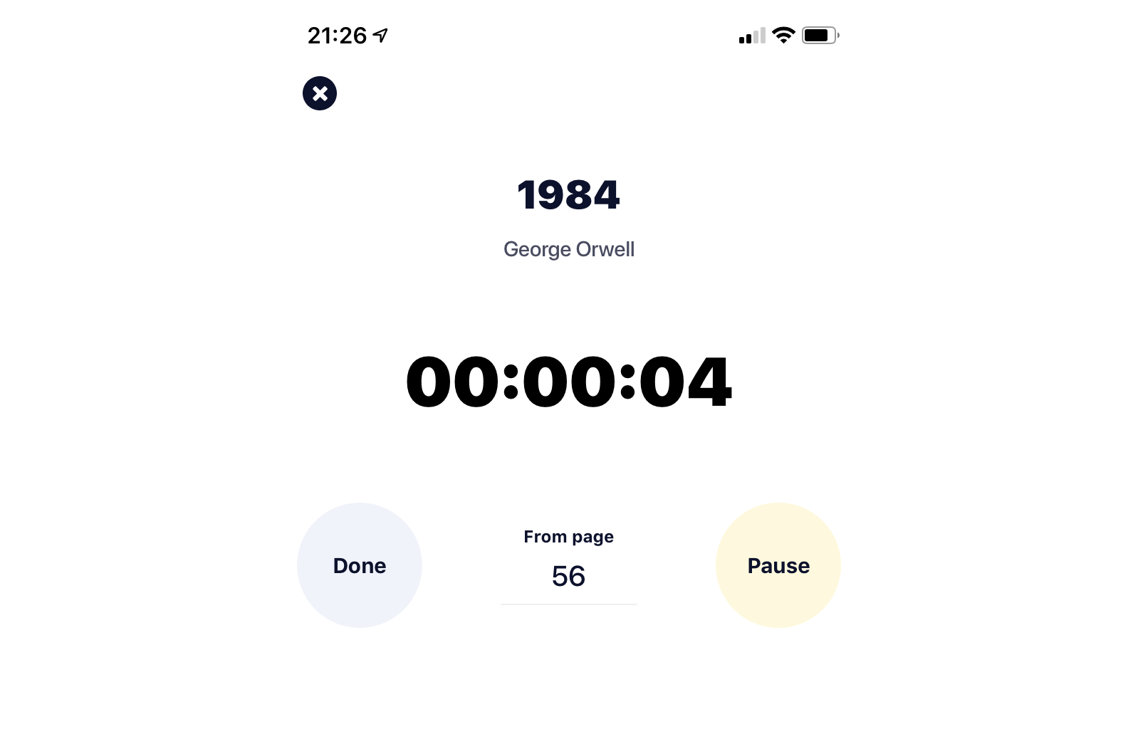 Countdown Timer in Swift 5 for iOS